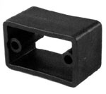 Spacer for Gas Bottle Holder Black Plastic